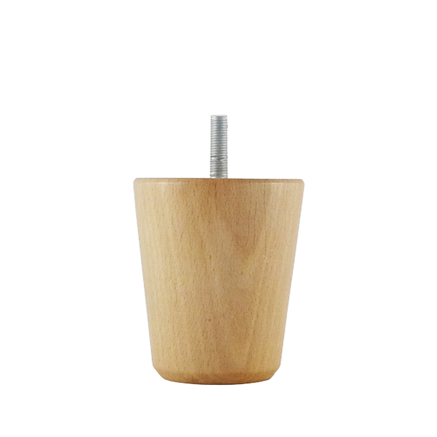 Wooden turned furniture leg M007